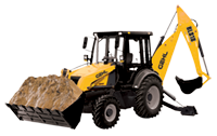 Gehl BL844 SodeShift Backhoe